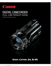 Canon XLH1A Product Manual