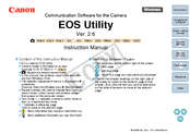 Canon 450D - EOS Rebel XSi Instruction Manual