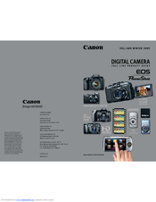 Canon 450D - EOS Rebel XSi Brochure