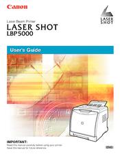 Canon i-sensys lbp5000 printer driver download.