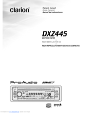 clarion dxz445 manuals rh manualslib com