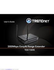TRENDnet TEW-736RE Range Extender Drivers Windows 7