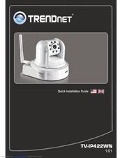 TRENDNET TV-IP422WN QUICK INSTALLATION MANUAL Pdf Download.