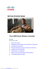 Cisco 2507 Getting Started Manual