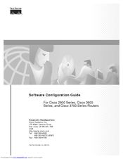 Cisco 3600 Series Configuration Manual