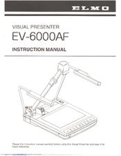 elmo ev 6000af instruction manual pdf download rh manualslib com