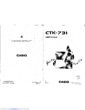 CASIO CTK-731 User Manual