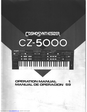 CASIO CZ-5000 Operation Manual