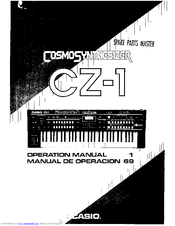 CASIO Cosmo CZ-1 Operation Manual