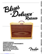 fender blues deluxe reissue manuals rh manualslib com fender blues deluxe limited edition review fender blues deluxe reissue review youtube