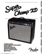 presenteren enorme inventaris winkelen voor FENDER SUPER CHAMP-XD OWNER'S MANUAL Pdf Download.