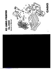 casio label it manual kl 780