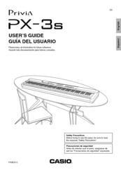 Casio PRIVIA PX-3S Manuals