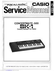 casio sk 1 manuals rh manualslib com Casio SK-1 Keyboard casio sk-1 service manual