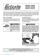 Grizzly G0456 Owner's Manual
