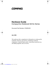 COMPAQ EVO N410C NOTEBOOK EASY ACCESS BUTTONS WINDOWS 8.1 DRIVER DOWNLOAD
