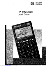 hp 48g series manuals rh manualslib com HP 48 28 HP