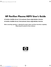HP Pavilion PL4200N User Manual