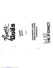hifonics series vii odin manuals hifonics series vii odin user manual