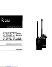 icom ic 2gxat instruction manual pdf download rh manualslib com icom ic-2200h manual español pdf