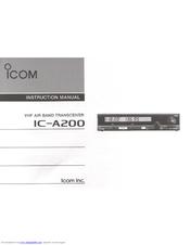 icom ic a200 manuals rh manualslib com