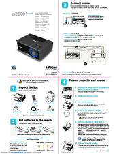 infocus in2114 manuals rh manualslib com benq projector user manual uf70w projecteur user manual