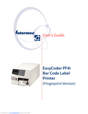 Intermec EasyCoder PF4ci Fingerprint Drivers for Windows Mac