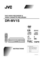jvc dr mv1 instructions manual pdf download rh manualslib com Nissan MV-1 jvc dr mv1s manual pdf