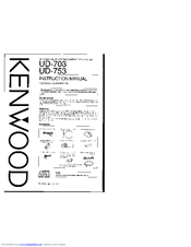 kenwood c f7 manuals rh manualslib com Kenwood 617 DVD Owner's Manual free kenwood user manual download