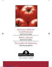 Kitchenaid Kfp1330 kitchenaid kfp1333cu manuals