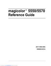 konica minolta magicolor 5570 manuals rh manualslib com Konica Minolta Magicolor 1600W Toner Konica Minolta Magicolor 1600W Toner