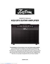Kustom KXB100 Owner's Manual