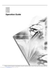 Kyocera KM-C3225 Operation Manual