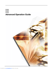 Kyocera KM-C3225 Advanced Operation Manual