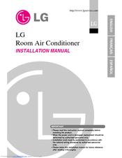 lg art cool ls120ce manuals rh manualslib com lg split type room air conditioner manual lg room air conditioner service manual