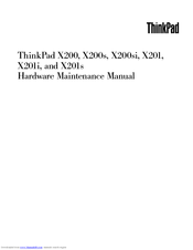 Lenovo 514328U Hardware Maintenance Manual