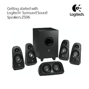 logitech z506 manuals logitech z506 getting started manual