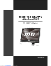 MSI Wind Top AE2040 WLAN Windows 8