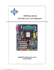 Support for k8n neo2-fx   motherboard the world leader in.