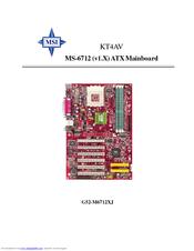 MSI KT4V MS-6712 MOTHERBOARD WINDOWS 7 X64 DRIVER DOWNLOAD