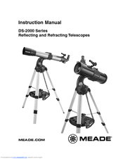 meade ds 2090 instruction manual pdf download rh manualslib com