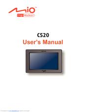 mio digiwalker c520 manuals rh manualslib com Mio DigiWalker C320 Mio DigiWalker C230