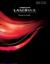 Mitsubishi Electric LaserVue L75-A91 Owner's Manual