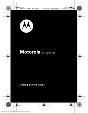 motorola ex128 getting started manual pdf download rh manualslib com User Documentation User Guide Template