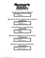 Numark 5000fx manuals.