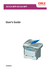 OKI B2520 MFP PRINTER DRIVER DOWNLOAD