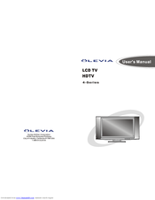 olevia 427v manuals rh manualslib com olevia user manual olevia 232-s12 owners manual