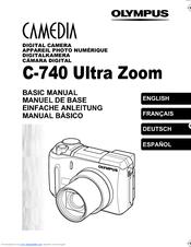 Olympus CAMEDIA C-740 Ultra Zoom Basic Manual