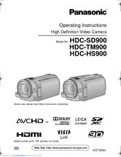 panasonic hdc tm900 manuals rh manualslib com Panasonic 900 Panasonic HS900