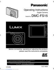 panasonic lumix dmc fs15 manuals rh manualslib com